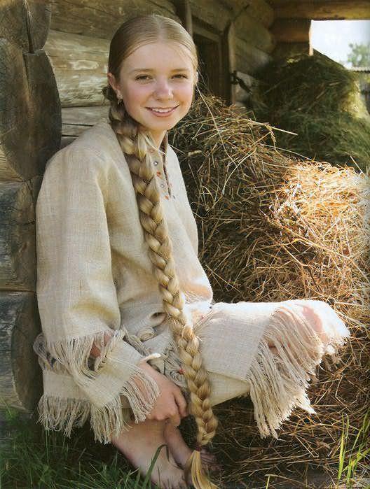 Длинная коса – девичья краса!