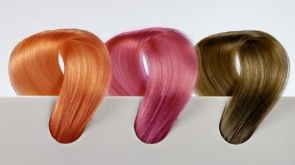 цвета красок для волос фото