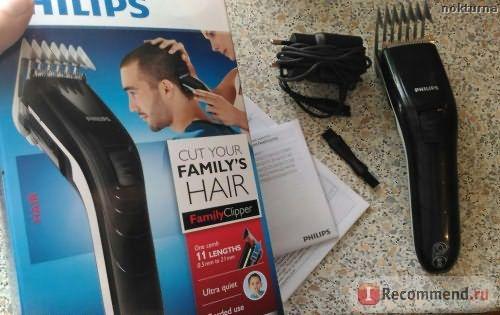 Машинка для стрижки волос Philips QC5115 фото