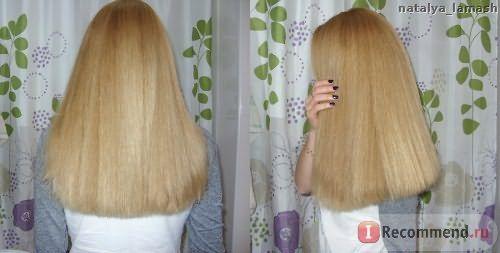 Волосы после применения масла Riche Hair Oil Amla