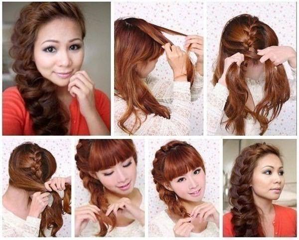 Боковая коса – лучшая ежедневная укладка длинных волос.