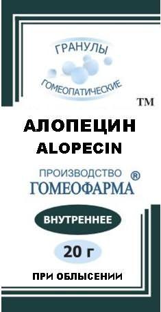 На фото – препарат Алопецин
