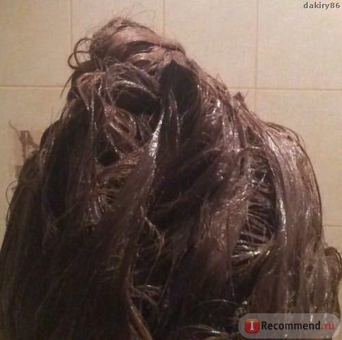 Волосы в процессе