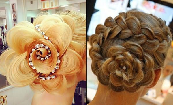 Как сделать большой цветок для волос Бесплатные