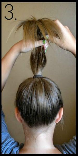 Волосы на валике по кругу