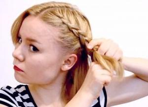 быстрая прическа на короткие волосы своими руками 1