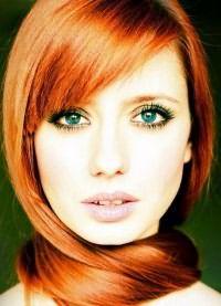 рыжие волосы зеленые глаза 6