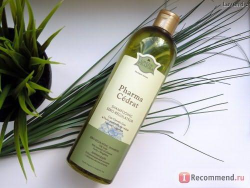 Шампунь GREEN PHARMA Себорегулирующий с эфирным маслом цитрона Фармацедра фото