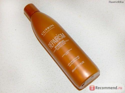 Шампунь Cutrin Repairism для сухих волос и химически поврежденных фото