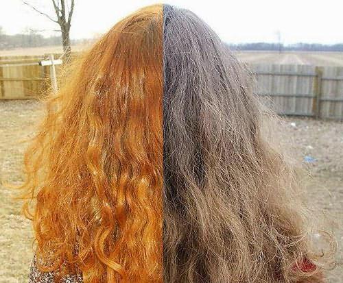 хна для волос рыжий цвет сколько держать
