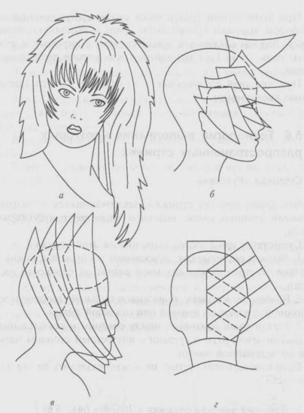 Дебют: схема выполнения стрижки