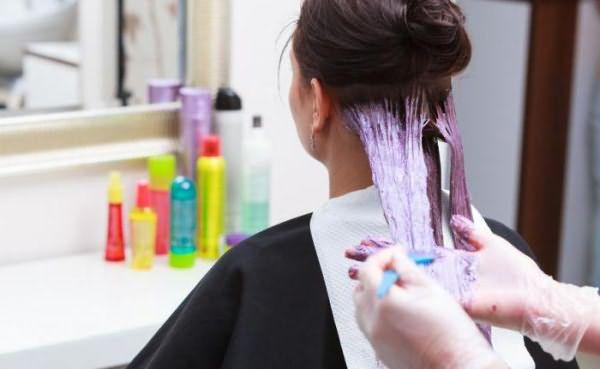 стойкая крем краска для волос