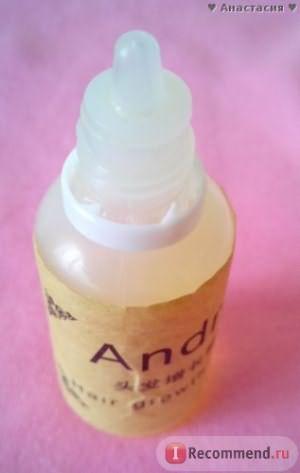 Масло для волос Aliexpress Hair care Original Authentic 100% Andrea Hair Growth Essence Hair Loss Liquid 20ml dense Hair Growth Serum фото