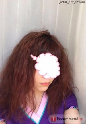 Вот, что будет с волосами,если их расчесать.