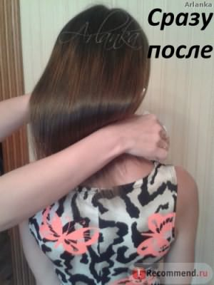 Ботокс (Botox) для волос в салоне фото