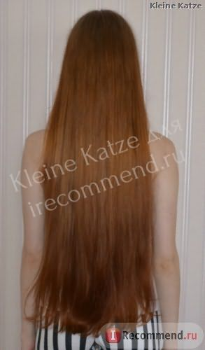 волосы через месяц постоянного использования