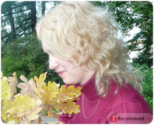 Филировка на волосы, окрашенные в блонд.