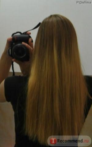 На фото волосы перед помывкой, выглядят темнее,чем есть.