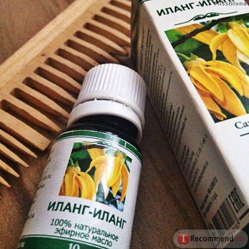 Эфирное масло Аспера Иланг - Иланг фото