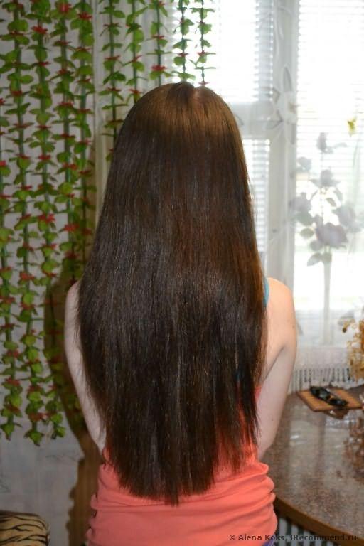 Волосы ДО покраски