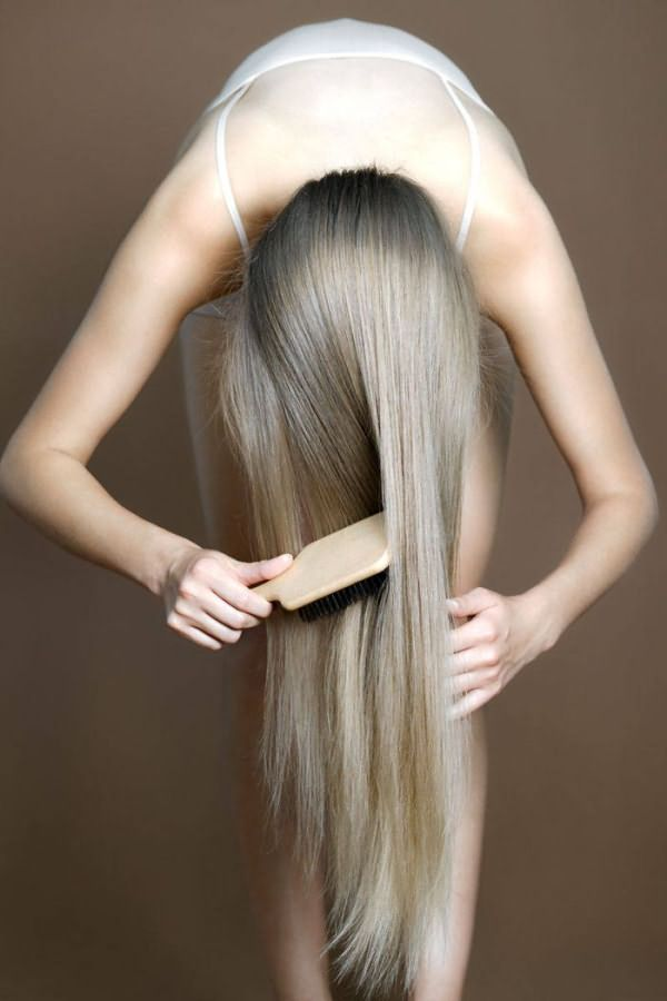 Так правильно расчесывать волосы