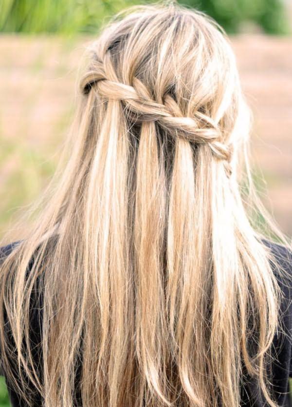 Пошаговая инструкция плетения косы французский каскад