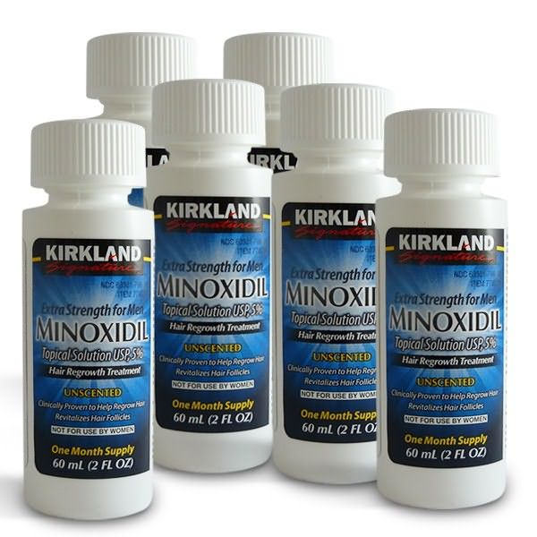 Миноксидил – один из наиболее действенных препаратов