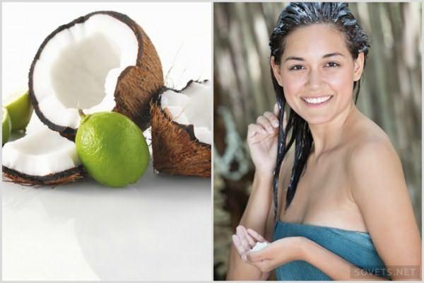 Как делать и применять кокосовые маски для волос