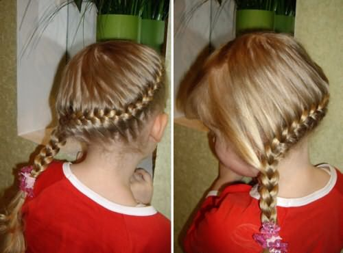 детские прически для девочек