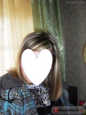 мелирование, конечно, очень освежает образ, но волосы портит ужасно...