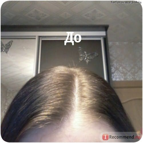 Волосы ДО окрашивания