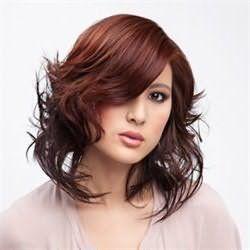 цвет волос красное дерево