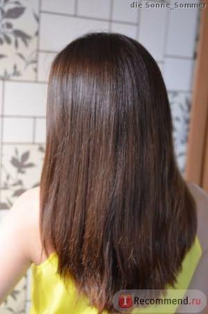 после 1 мытья волос