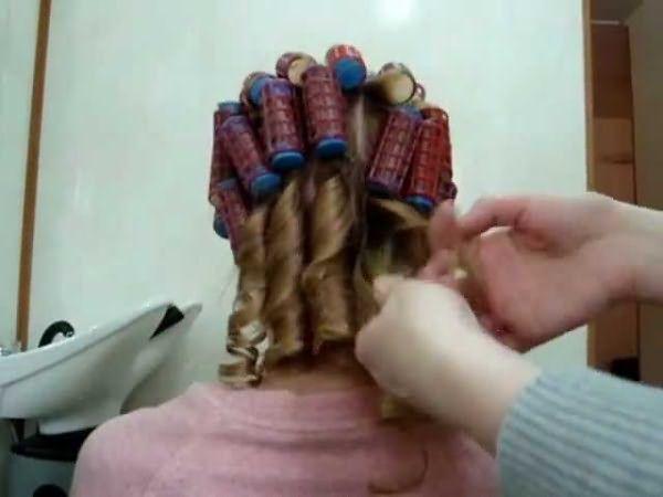 С термобигуди вы получите красивую причёску за 15 минут