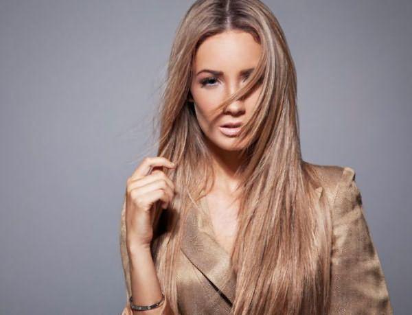 Прическа лесенка: длинные волосы