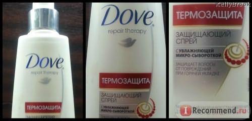 Спрей-термозащита для волос Dove Repair Therapy Термозащита фото