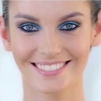 макияж для русых с серо голубыми глазами 3