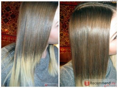 Волосы вымытые шампунем