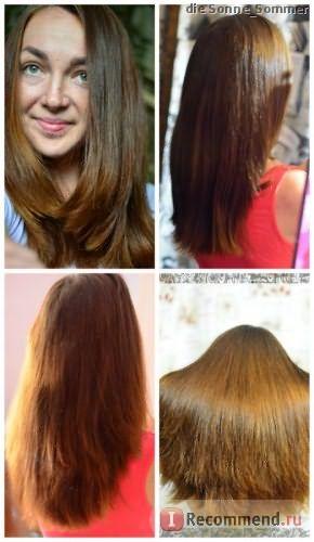 волосы за период отдыха от красок, + лечение маслами