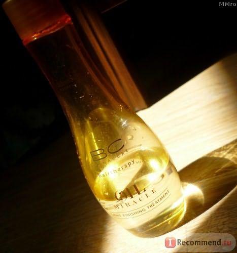 Масло для волос Bonacure Oil Miracle для тонких и нормальных фото