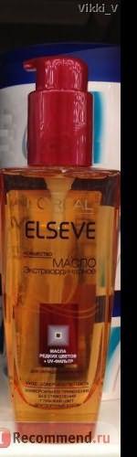 Масло для окрашенных волос L'Oreal Elseve Экстраординарное 6 масел редких цветов фото