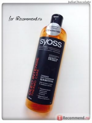Шампунь Syoss Oleo Intense Thermo Care