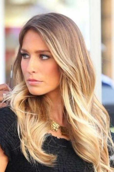 шатуш на светлые волосы фото до и после