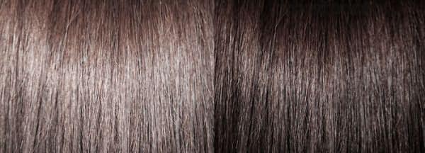 Результаты смывки темных волос мылом