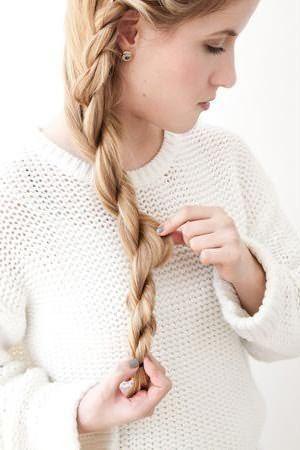 Плетение романтичной косы: шаг 5