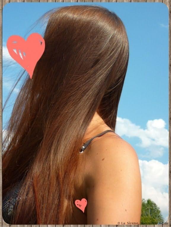 Ламинирование волос в салоне фото
