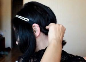 сделать прическу своими руками на короткие волосы 2