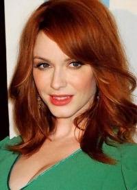рыжие волосы зеленые глаза 4
