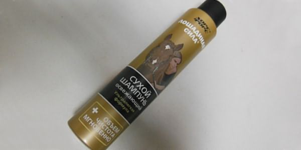 Сухое средство для волос Лошадиная сила