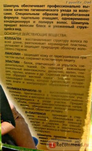 Шампунь-кондиционер Хорс Форс